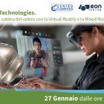 Mixed reality, realtà virtuale ed aumentata: webinar gratuito il 27 Gennaio