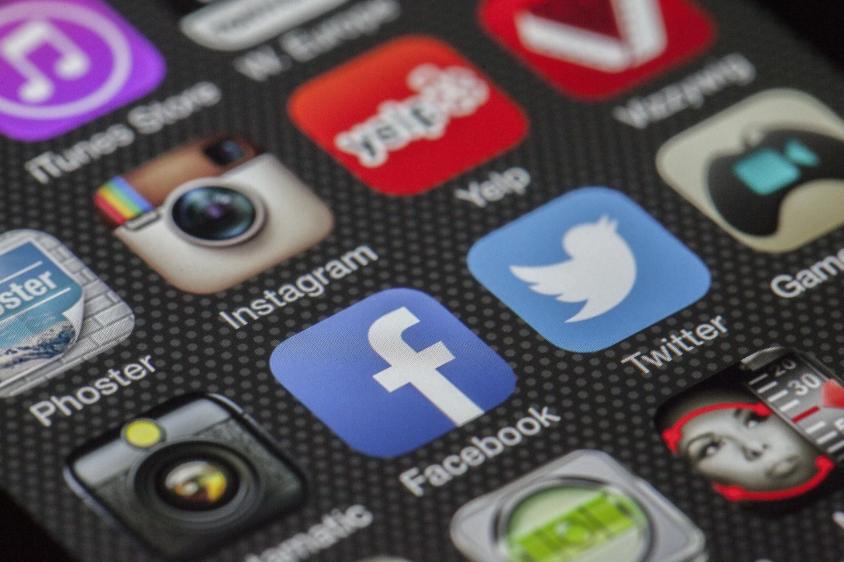 La presenza sui social network
