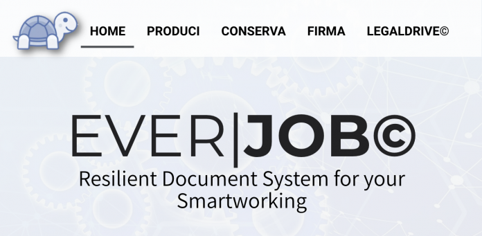 EverJOB, la prima Digital Trust Service Platform per lo Smartworking