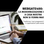 Webgate400: webinar gratuito il 27 aprile!