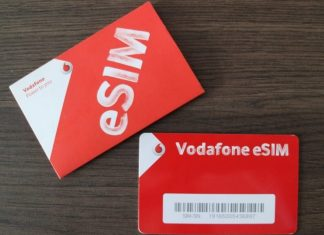 eSIM Vodafone