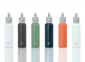 REBO: la bottiglia riutilizzabile connessa che pulisce il pianeta