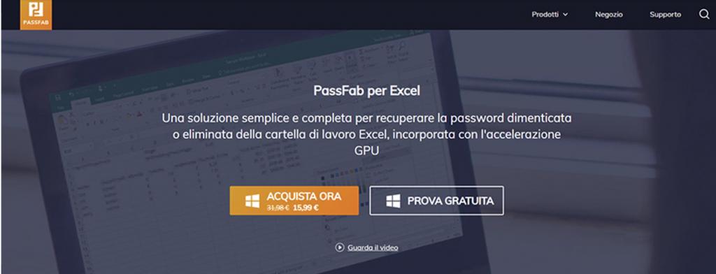 password passfile per excel