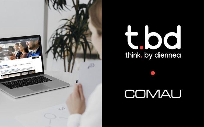 Comau rinnova il sito aziendale con t.bd think. by diennea